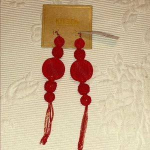 Red Chinese Lantern Kitsch earrings